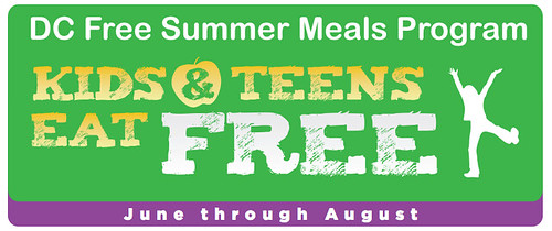 Kids & Teens Can Eat Free Through the DC Free Summer Meals Program
