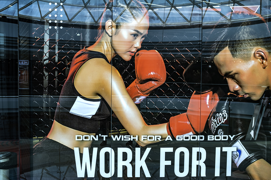 DON'T WISH FOR A GOOD BODY WORK FOR IT--Saigon