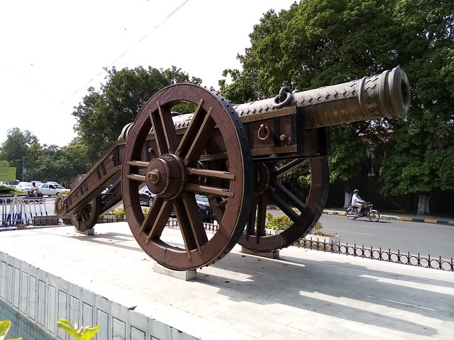 cannon in auto mode by Honor 8S
