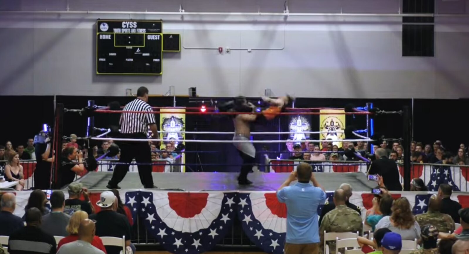 OVW Fight At Fort Knox Chace Destiny Corey Storm William Lutz
