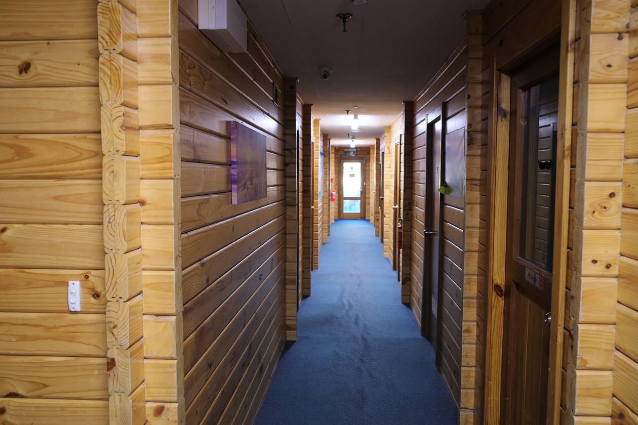 YHA Aoraki Mt.Cook 廊下