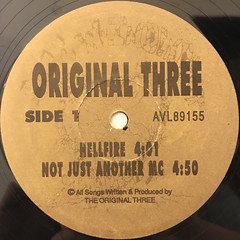 ORIGINAL THREE:HELLFIRE(LABEL SIDE-A)