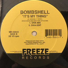BOMBSHELL:IT'S MY THING(LABEL SIDE-B)
