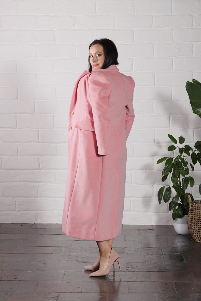 Wool + Mohair Winter Coat by Julia Bobbin