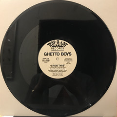 THE GHETTO BOYS:YOU AIN'T NOTHING(RECORD SIDE-B)