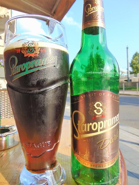,,[Cz] STAROPRAMEN DARK (4.4) 50cl - Why Not Bar, Budapest {750 HUF} (Jun19)