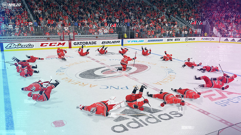 NHL 20 on PS4