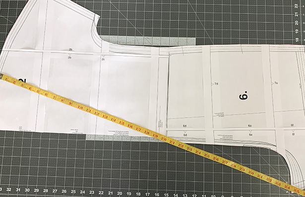 Back Jumpsuit Measurement