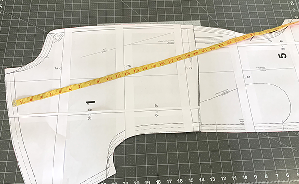 Pattern Measurement Front Jumpsuit