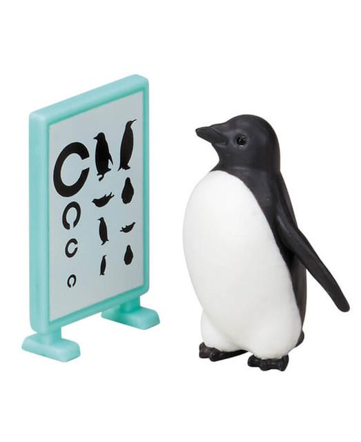 EPOCH「企鵝健康檢查」逗趣登場!ペンギン身体測定