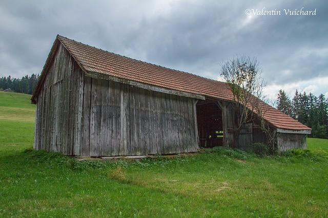 SF-IMG_5006 - Old hayloft, Chemin des Citards, Gruyère region - Switzerland