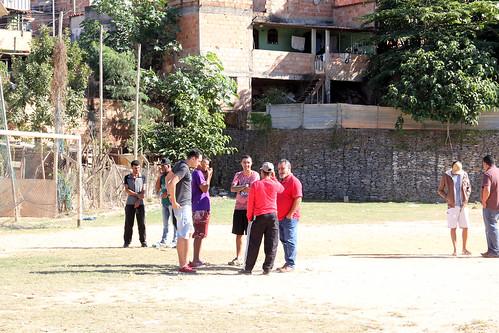 Visita técnica para verificar as condições do Campo de Futebol do Novo Aarão Reis - Comissão de Educação