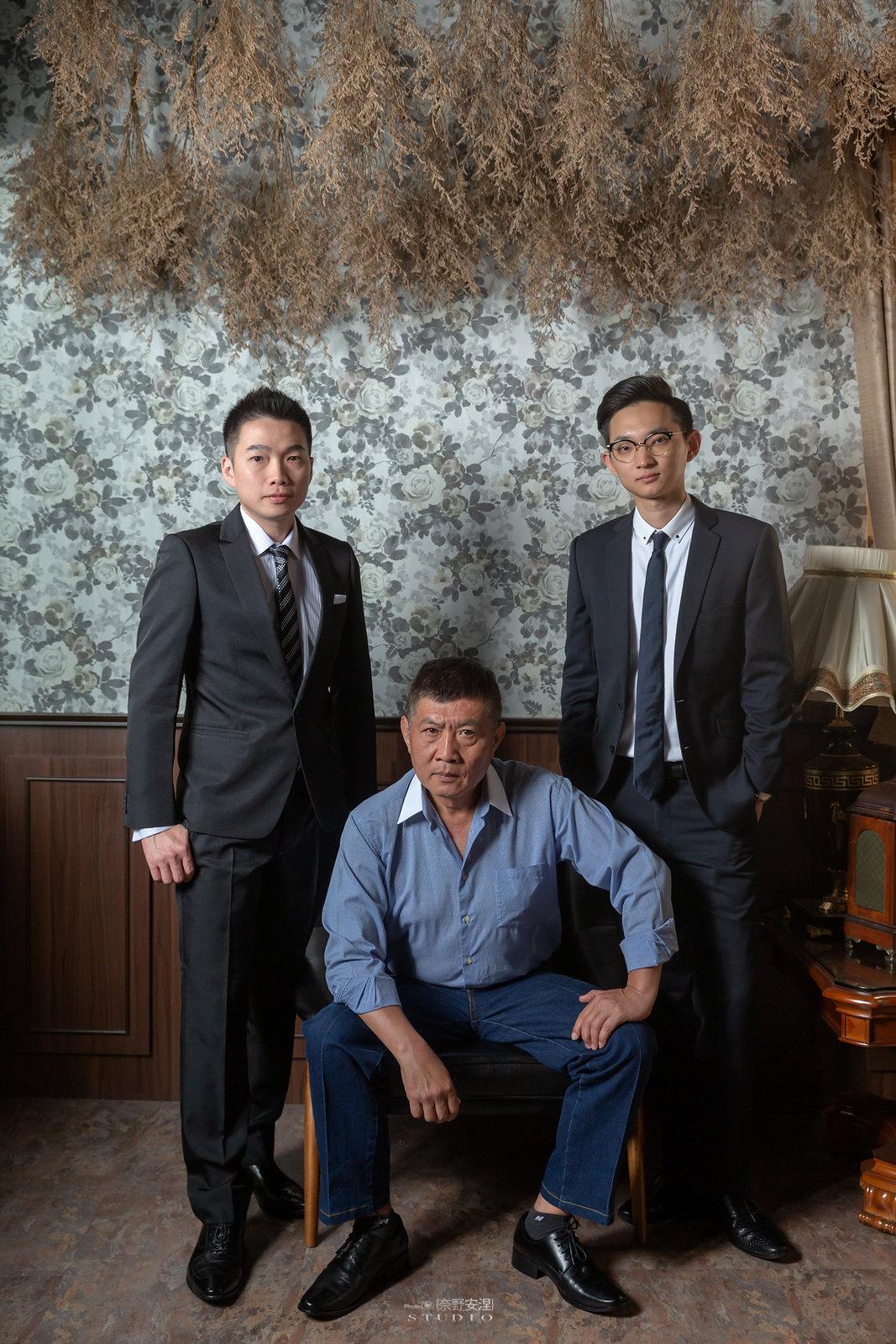 台南全家福 | 拋棄傳統合照的彆扭,忠實呈現家人間最親密的情感24