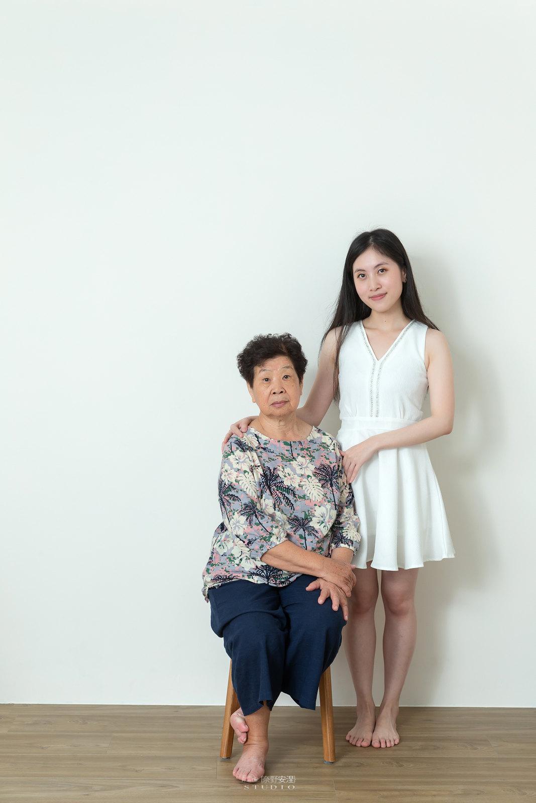 台南全家福 | 拋棄傳統合照的彆扭,忠實呈現家人間最親密的情感31