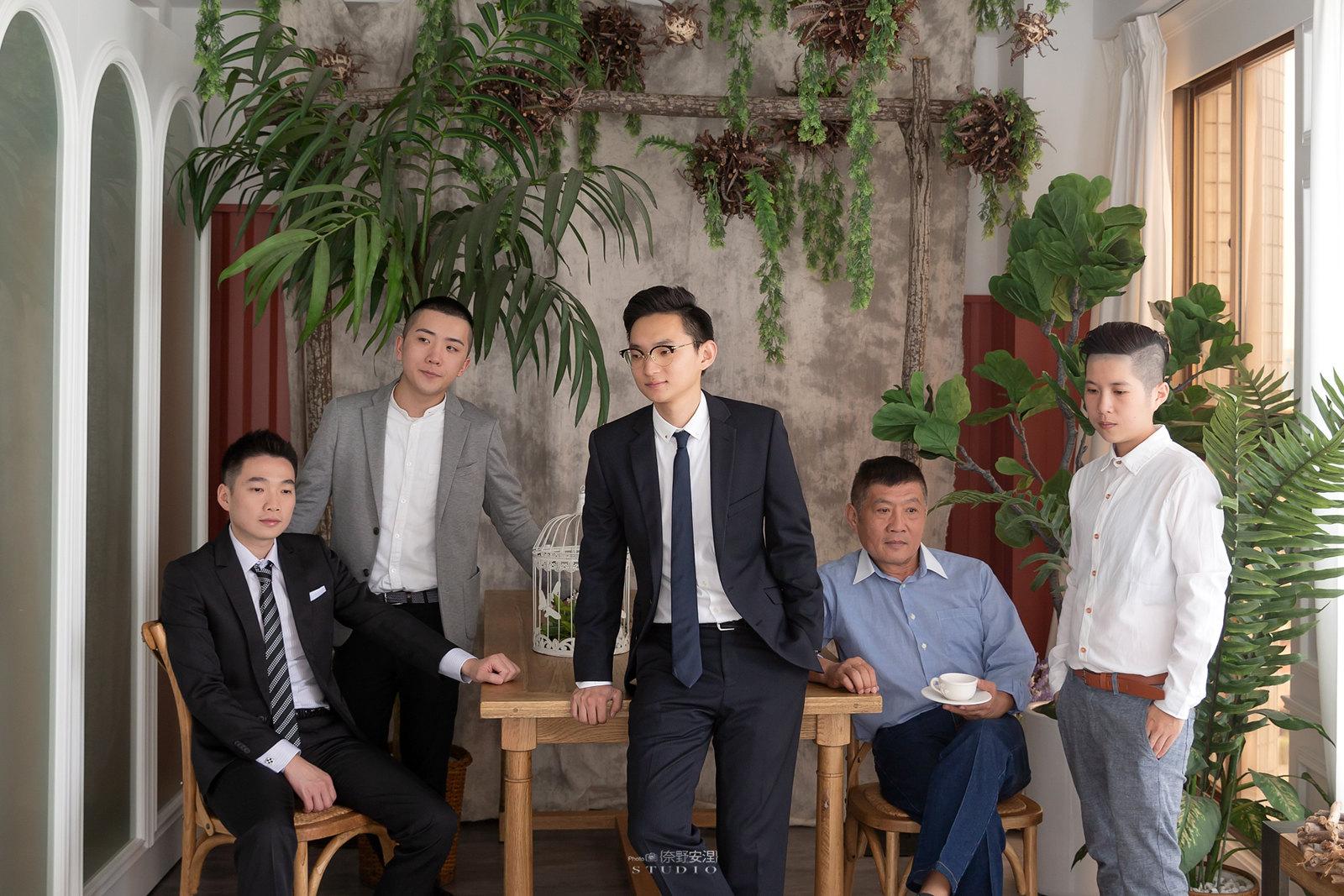 台南全家福 | 拋棄傳統合照的彆扭,忠實呈現家人間最親密的情感16