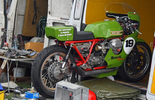 Moto Guzzi racing # 19