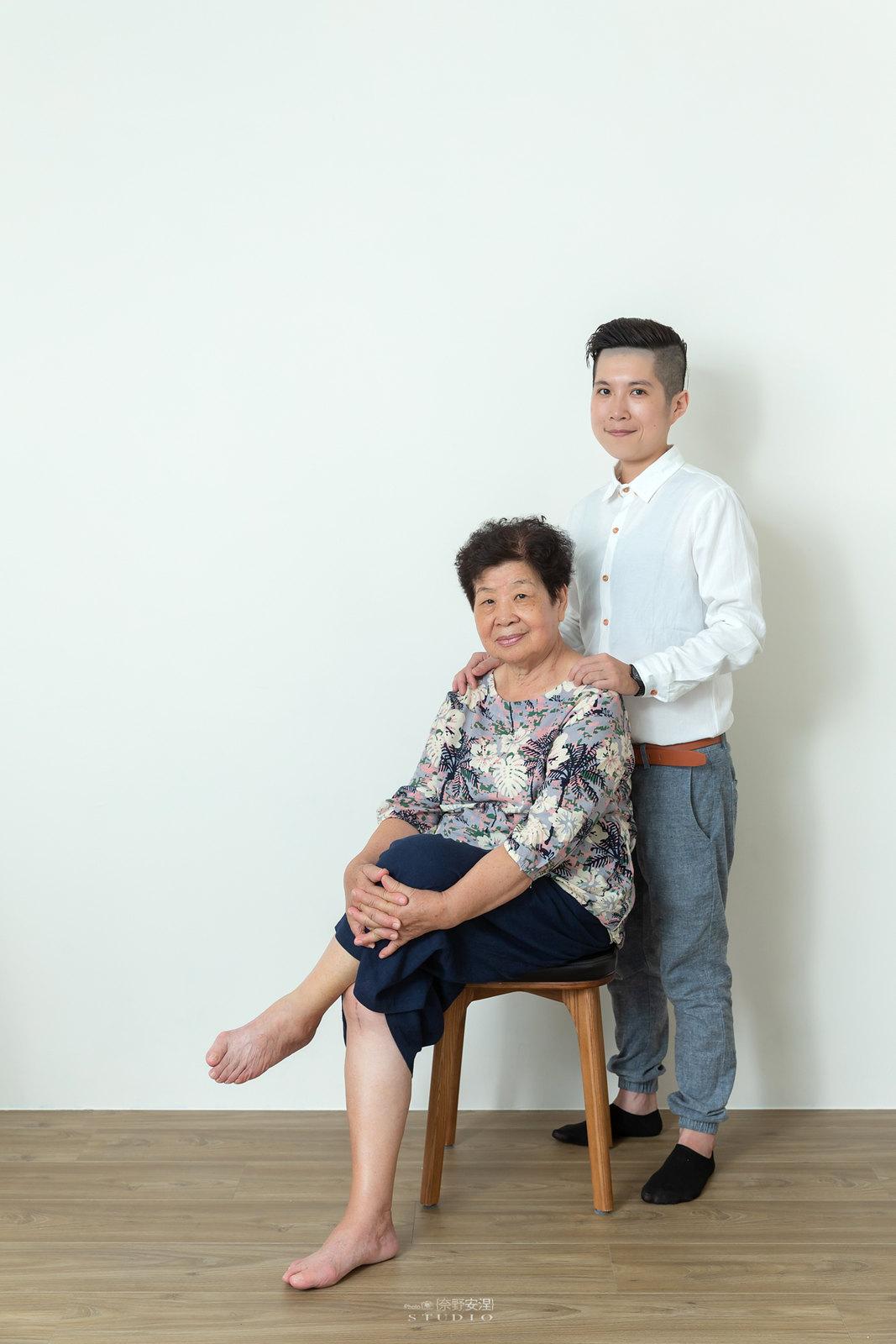 台南全家福 | 拋棄傳統合照的彆扭,忠實呈現家人間最親密的情感29
