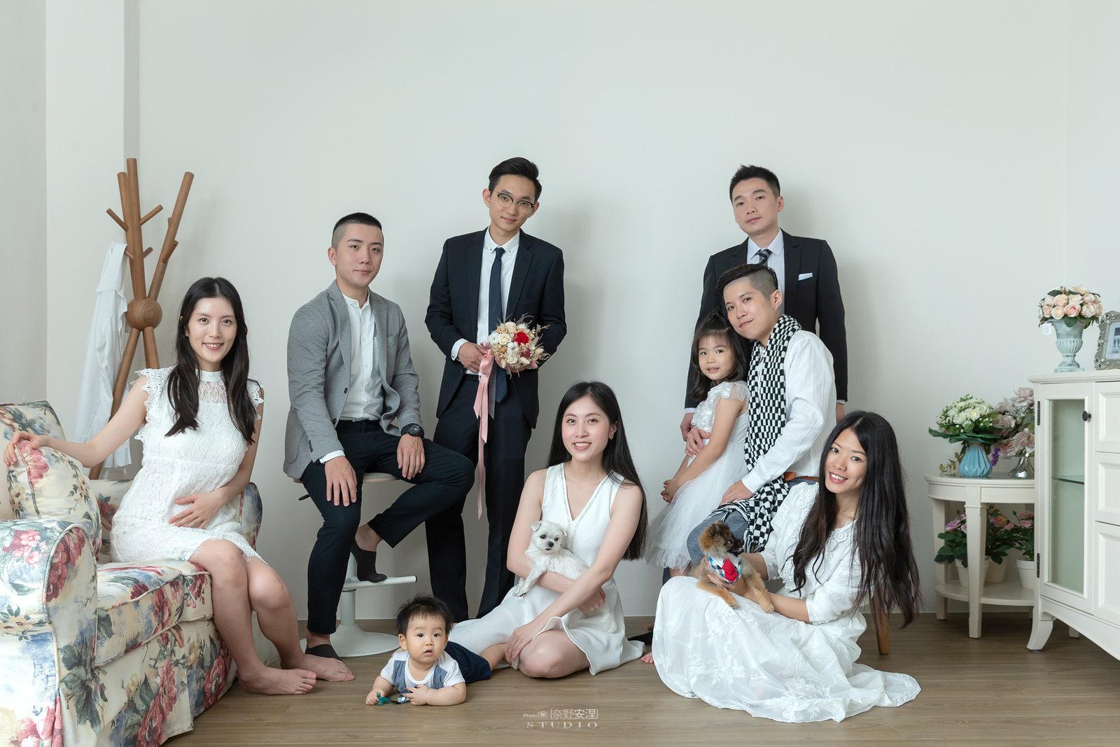 台南全家福 | 拋棄傳統合照的彆扭,忠實呈現家人間最親密的情感27