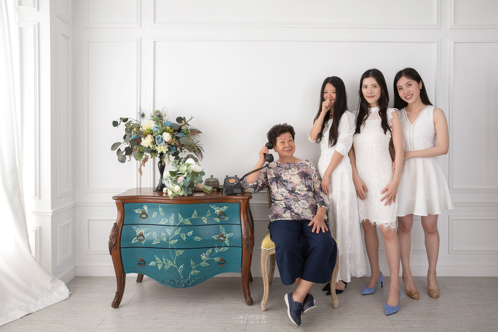 台南全家福 | 拋棄傳統合照的彆扭,忠實呈現家人間最親密的情感19