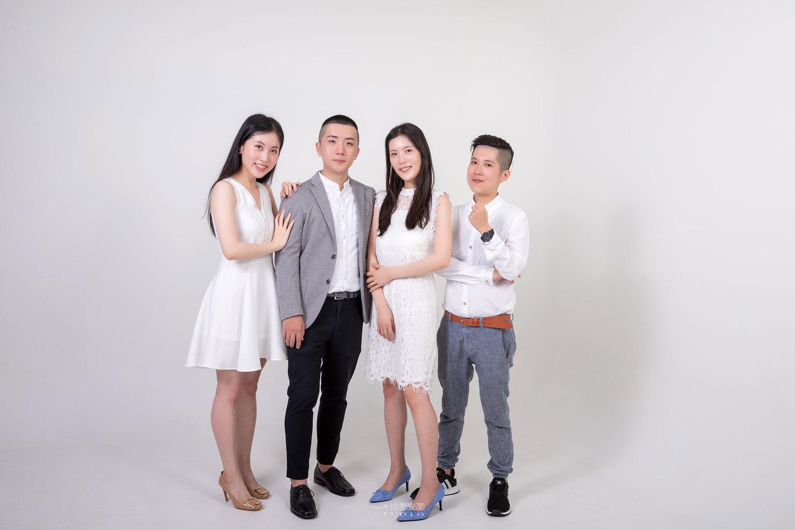 台南全家福 | 拋棄傳統合照的彆扭,忠實呈現家人間最親密的情感9