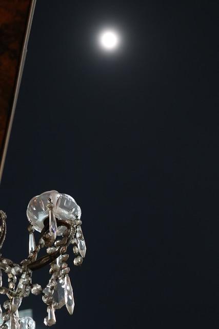 Moon Glass Lamp