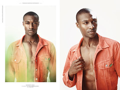 Black is Beautiful. Mauro Lopes photographed by Francisco Martins