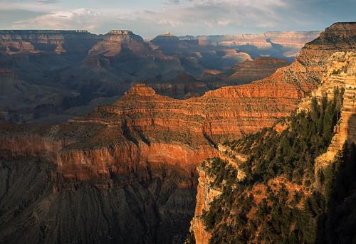 Sunset at Yavapai Point, Grand Canyon National Park, Arizona