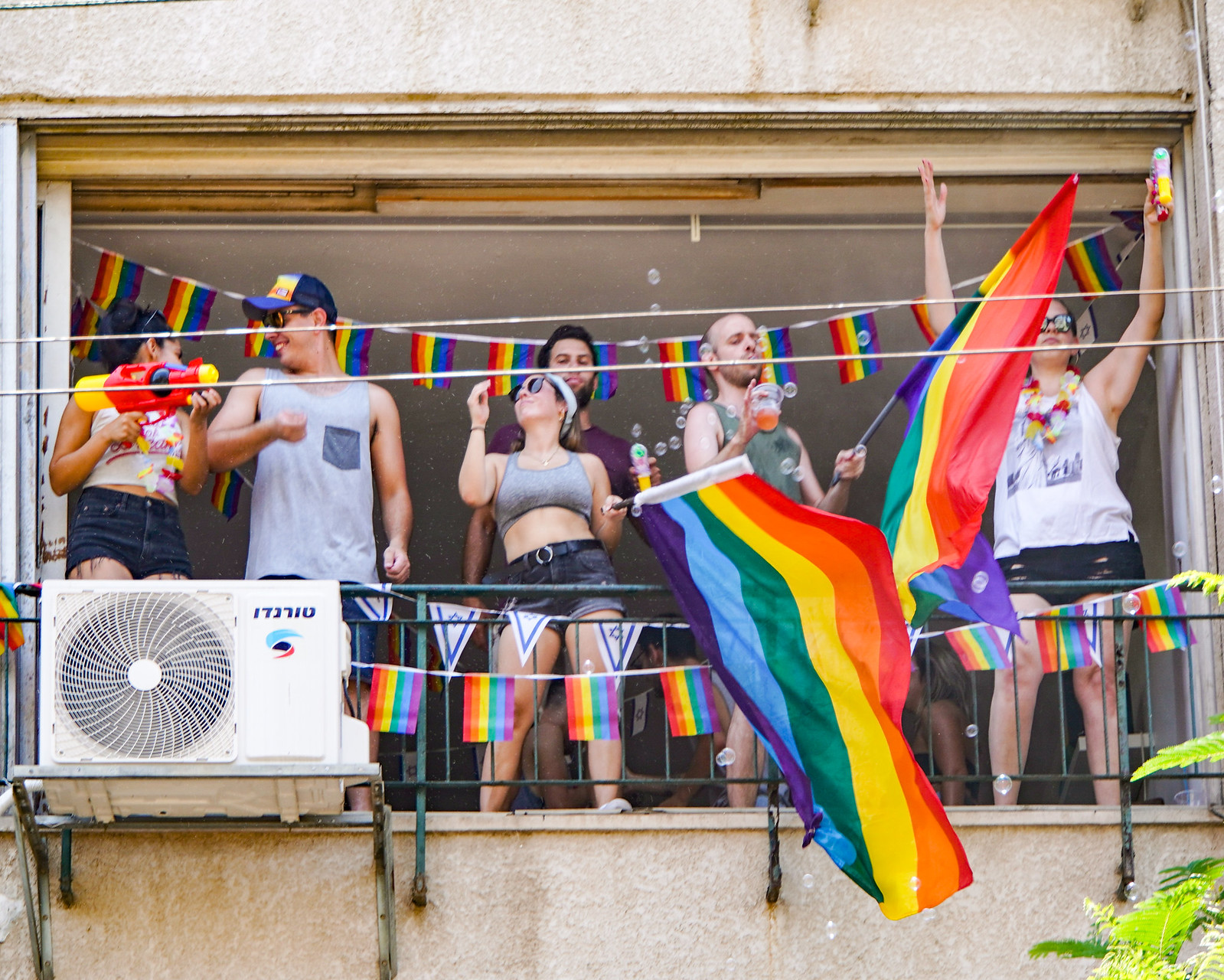 Photo Friday: At the Corner of Existence and Acceptance, LGBTQ Pride, Tel Aviv, Israel