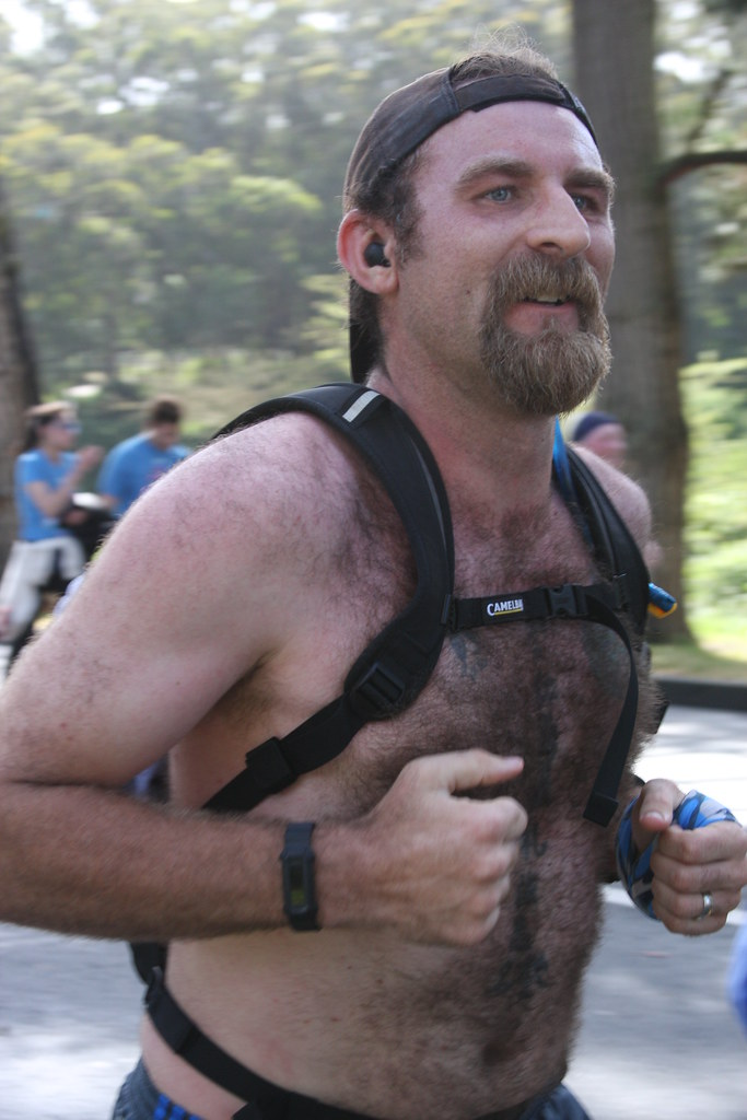 #1 TOP VIEWED & FAVED BEARDED HUNKS at the BAY TO BREAKERS RACE 2019 ! ( safe photo )