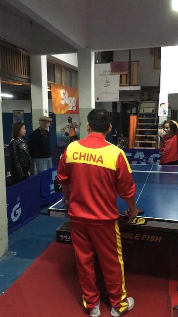Técnico chino en Uruguay