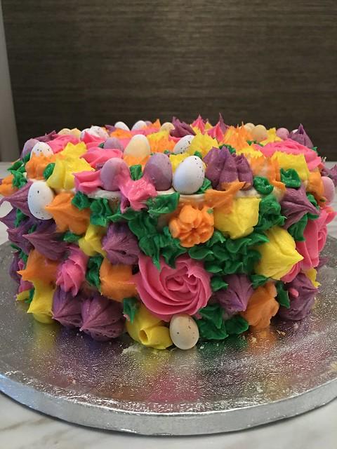 Floral Cake by Sudha Sanathi