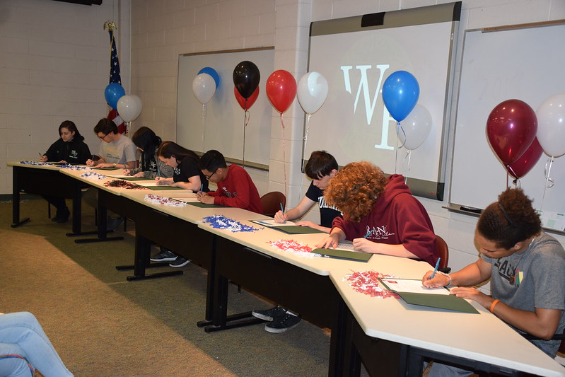 WFHS 2019 Music Signing Day