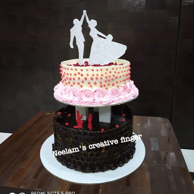 Cake by Neelam Singhi of Neelam's Creative Fingers Cakes