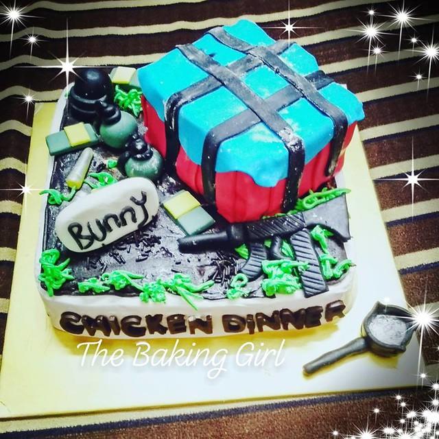 Cake by Merina of The Baking Girl