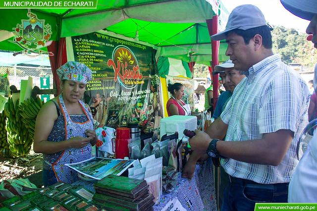 Productores participaron en feria agropecuaria realizada por el aniversario de Kiteni
