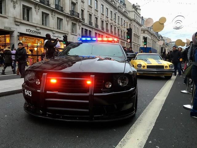 Ford Mustang V8 Police Car