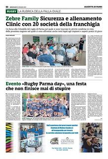 Gazzetta di Parma 19.06.19 - 8° Rugby Parma Day pag 50
