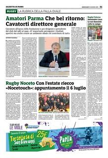 Gazzetta di Parma 19.06.19 - pag, 51