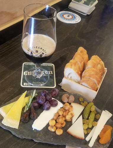 Cheese Plate + Beer | by HC's Foodventure