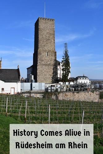 History Comes Alive in Rüdesheim am Rhein