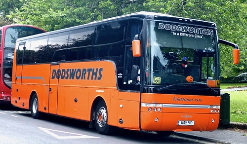 USV 810 'Dodsworth's. DAF / Van Hool Alizee on Dennis Basford's railsroadsrunways.blogspot.co.uk'