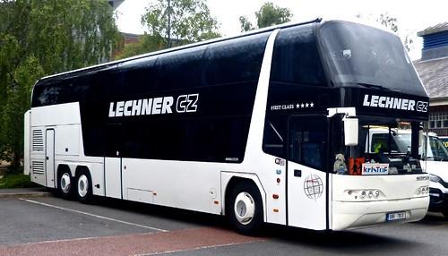 8B6 7800 'Lechner CZ', (Czech Republic). Neoplan Skyliner on Dennis Basford's railsroadsrunways.blogspot.co.uk'