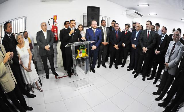 INAUGURAÇÃO   TJMA entrega Salão do Júri em novas instalações na Comarca de São João Batista