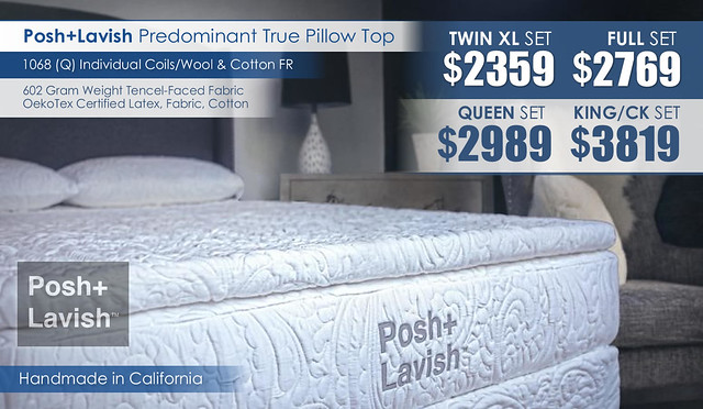 Predominant True Pillow Top_Posh and Lavish