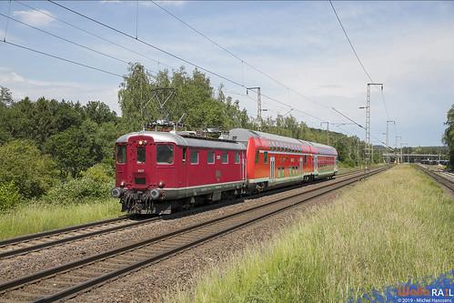 Re 4-4 I 10019 . Centralbahn . Stolberg (Rheinland) . 19.06.19.