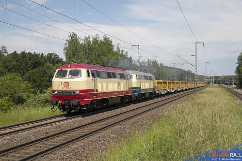 217 002 + 218 472 . ASLVG . 91995 . Stolberg (Rheinland) . 19.06.19.