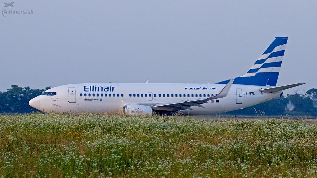 LZ-BVL Ellinair Boeing 737-33S(WL)