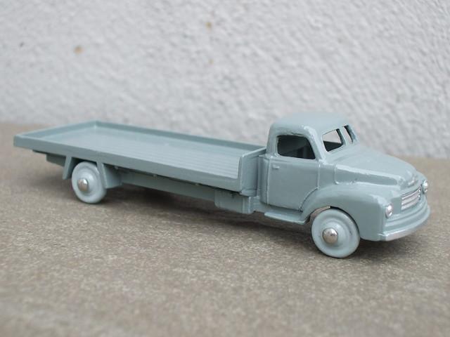 Vintage Dinky Dublo Grey Bedford Flatbed Lorry