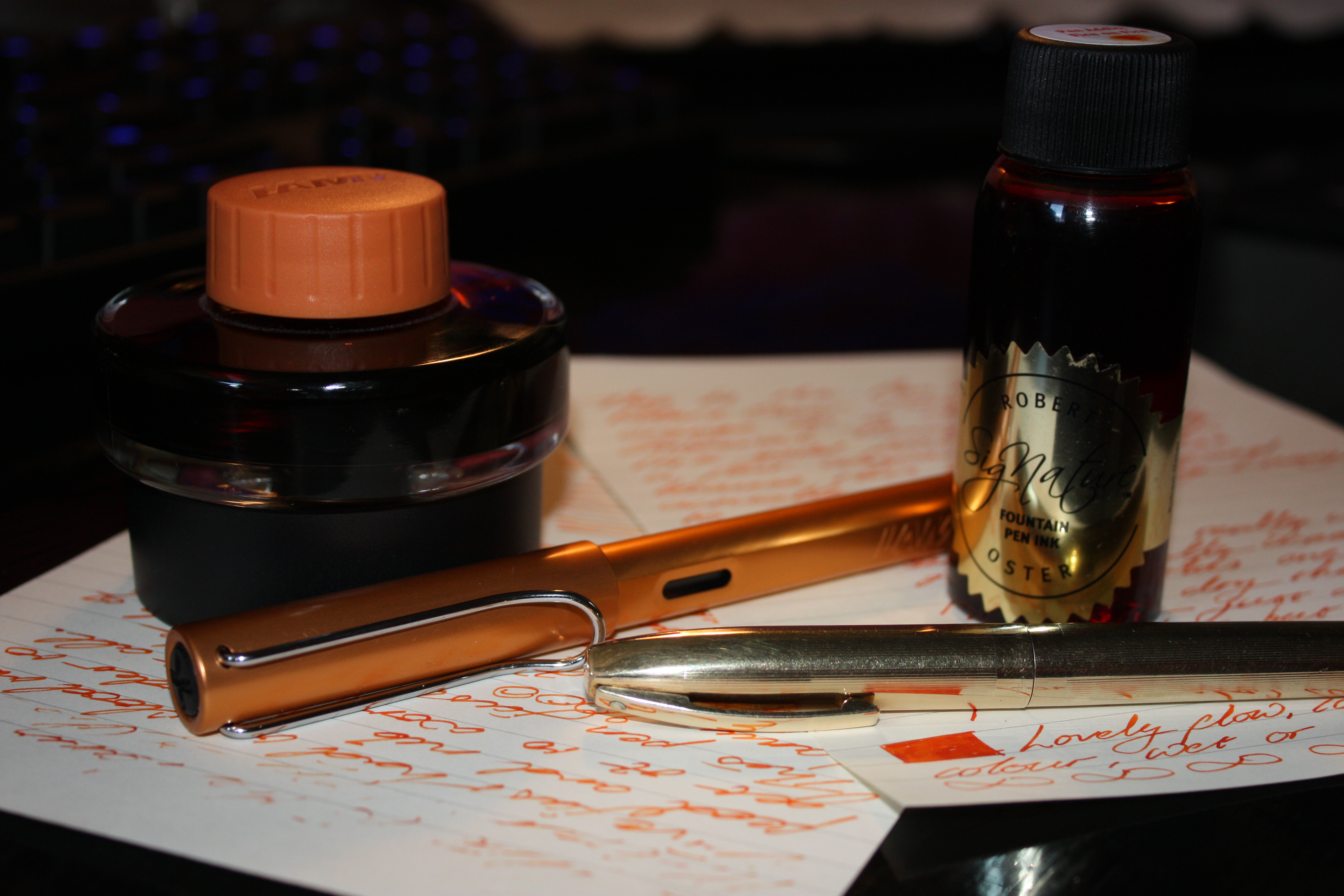 The Pen Addict vs. Lamy Shootout—Brad's on Fire!