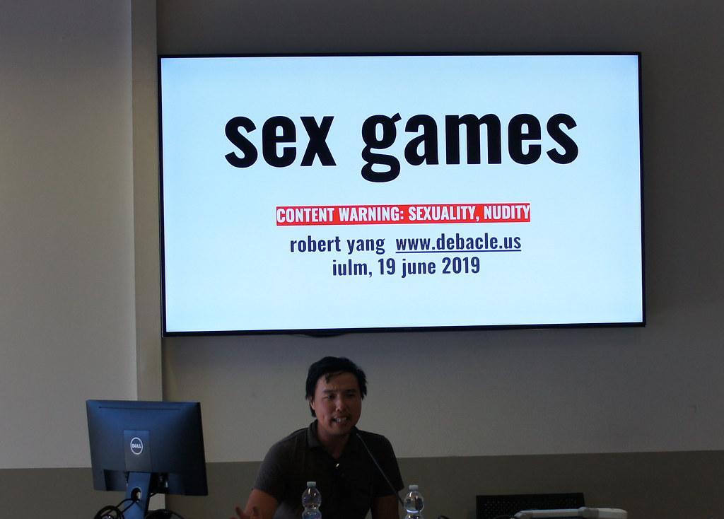 GAME TALK #9: ROBERT YANG